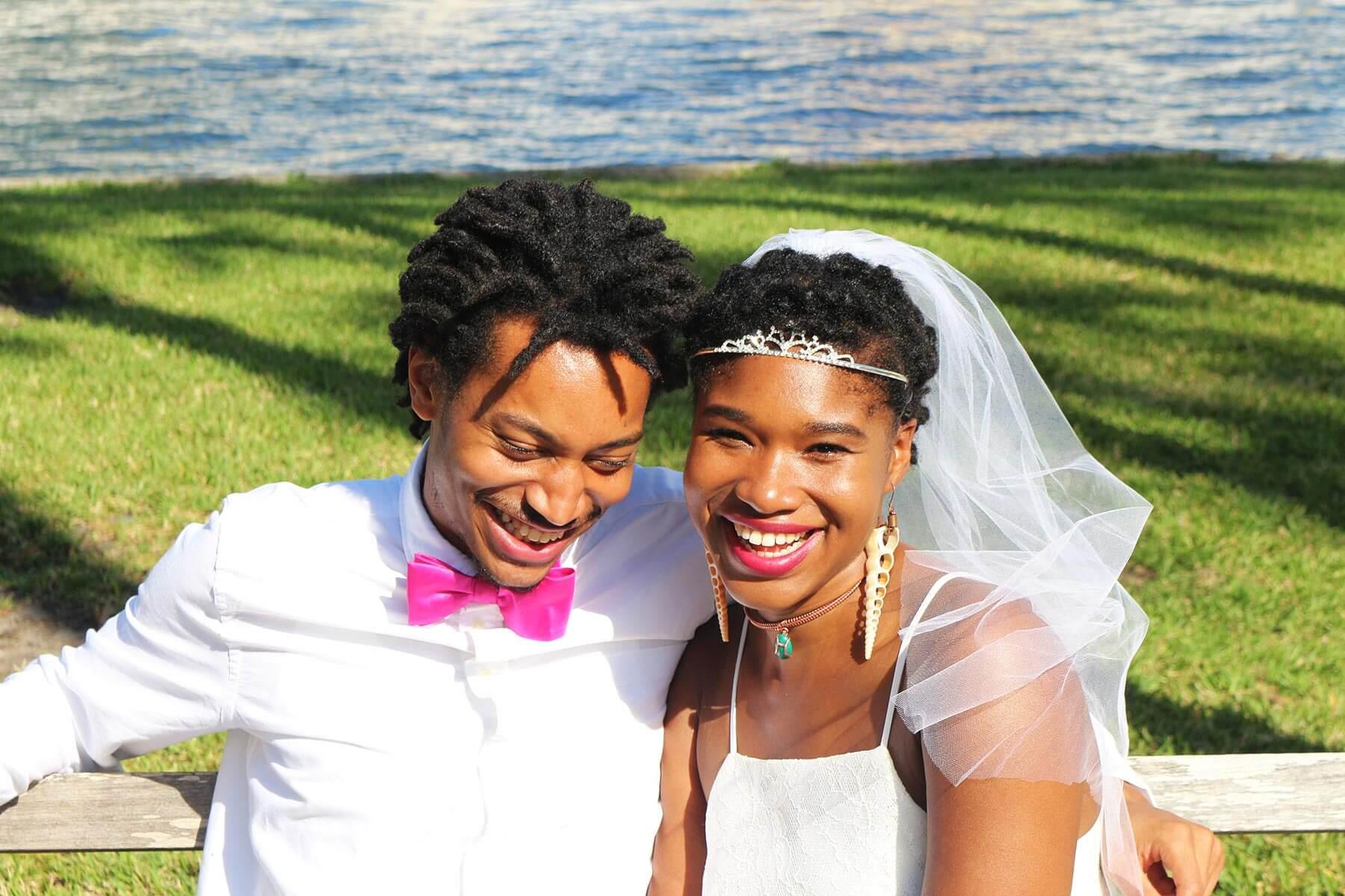 Kimaya Sabalie and Zeiki Sabalie Wedding Photo
