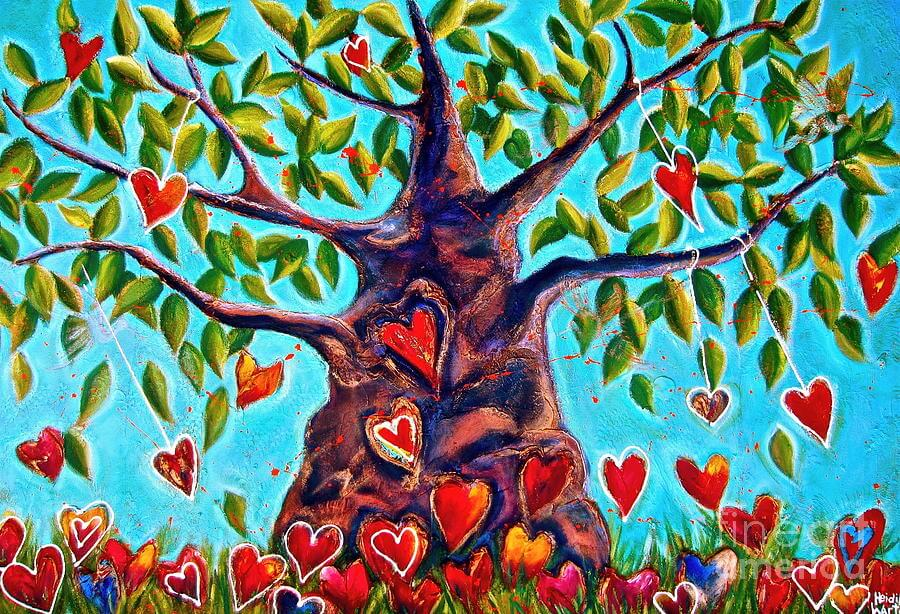 Tree of Hearts Loveairian Abudanace